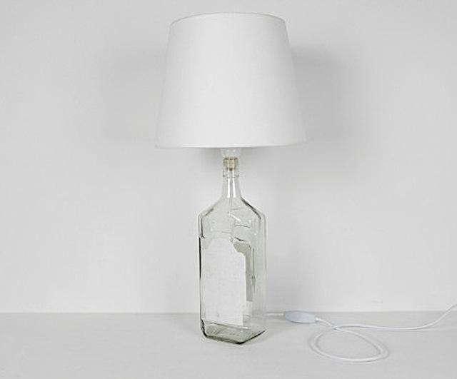 DIY Maison Martin Margiela Bottle Lamps portrait 4
