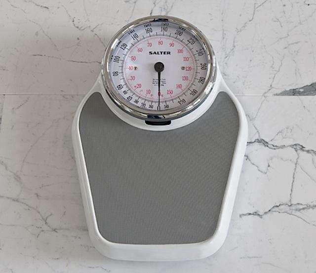 640 salter bathroom scale