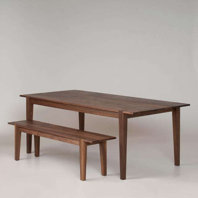 A Shaker Table and Bench Handmade in the Northwest portrait 3
