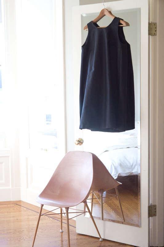 heidi swanson black dress