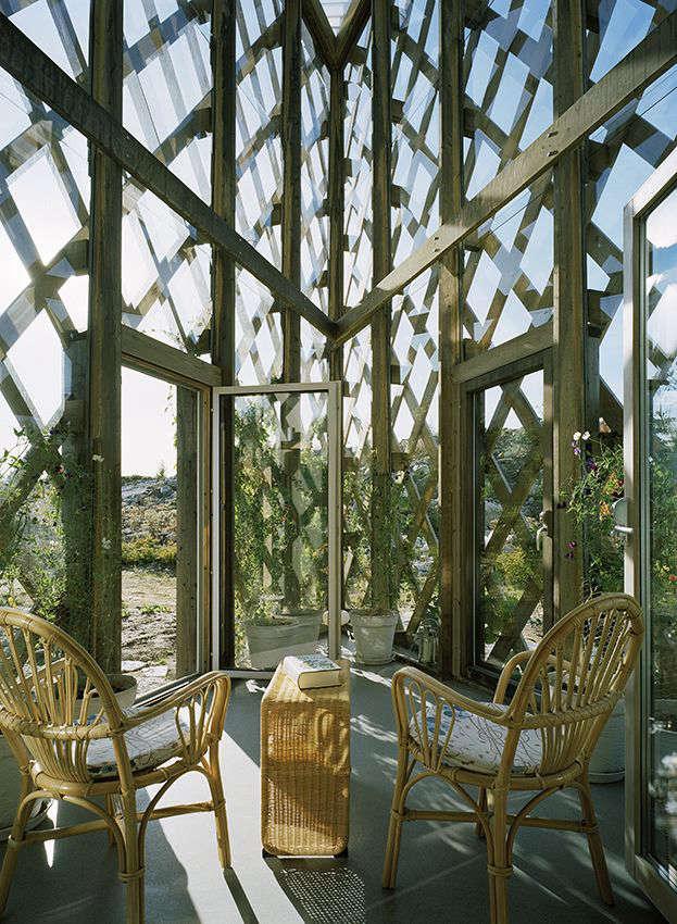 Architect Visit Garden House in Sweden by Tham  Videgard portrait 5