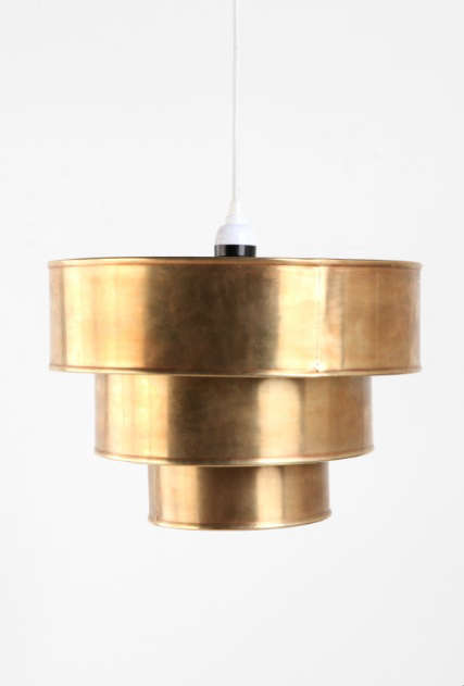 urban outfitters brass pendant 2