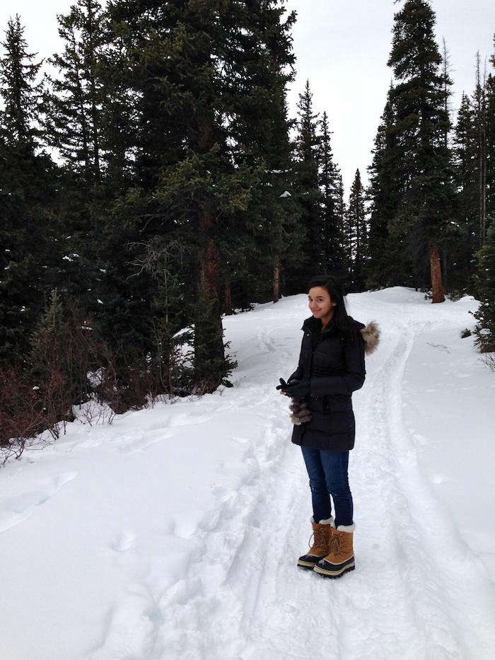 Hike of the Week A Snowy Day in Colorado Gold Rush Country  portrait 3