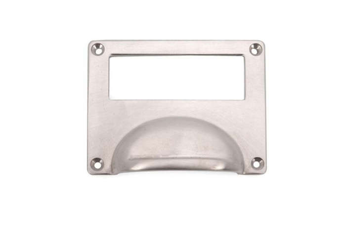 700 armac solid brass label holder