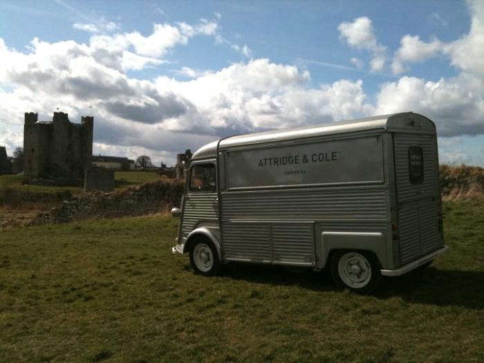 700 attridge and cole coffee truck outside