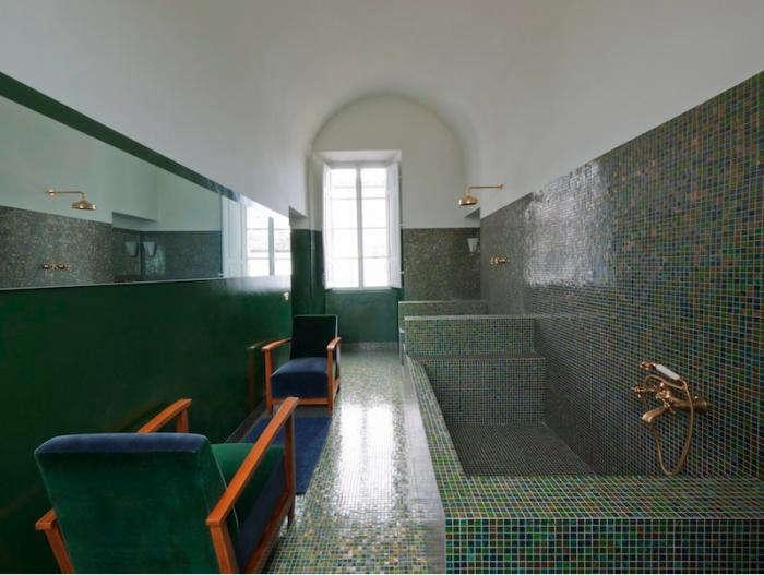 700 dolce vita green bath