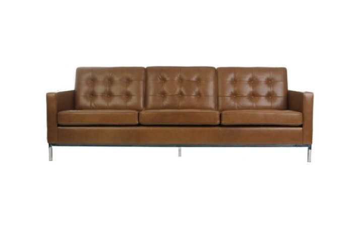 700 florence knoll sofa in volo leather