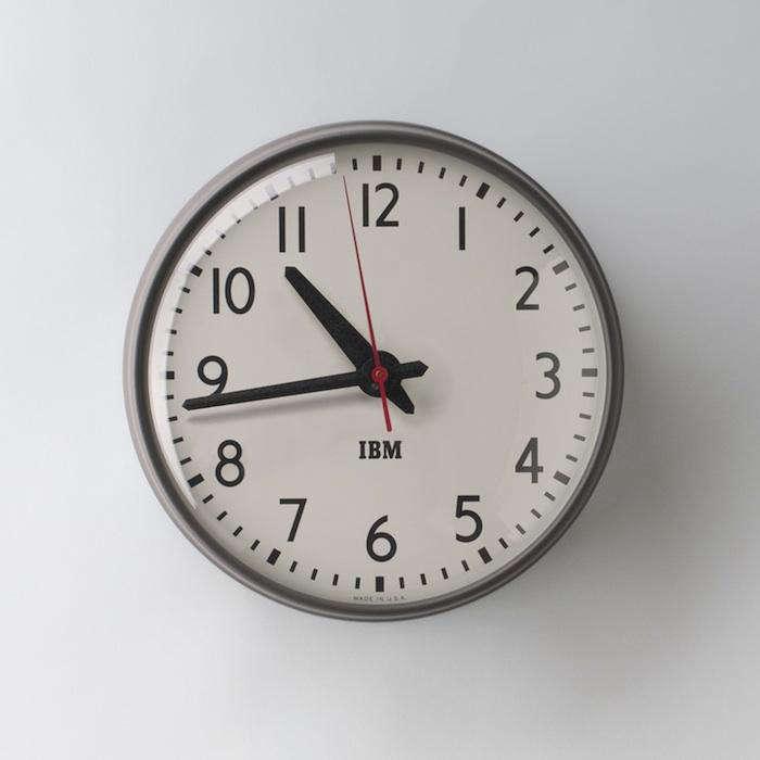 700 ibm reissue clock schoolhouse electric