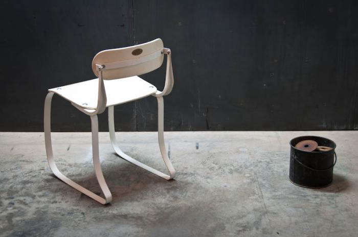 700 ironrite chair in white back