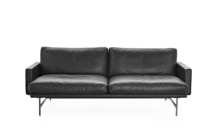 700 lissoni sofa black