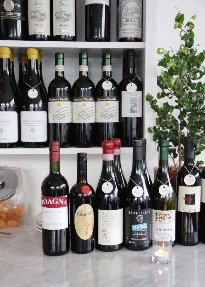700 luce wine bottles