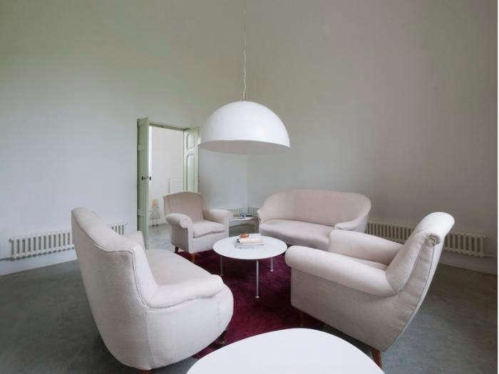 700 marina living room white chairs