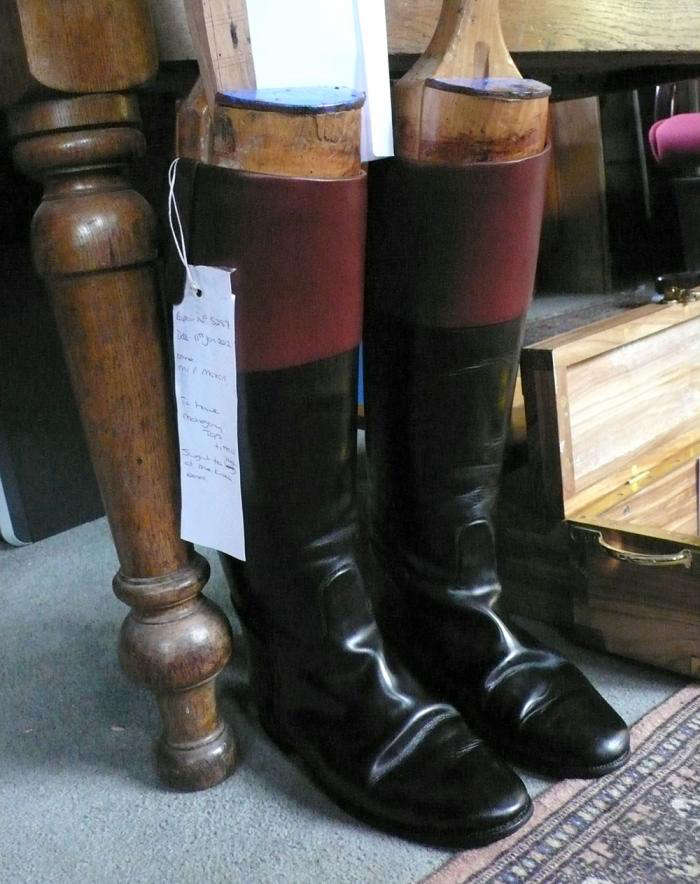 700 polished boots horace