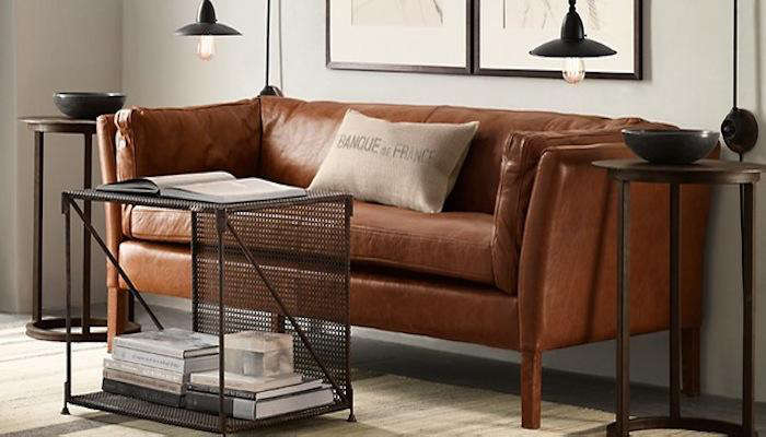 10 Easy Pieces Modern Leather Sofas portrait 4
