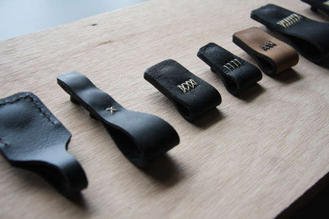 henry built leather pulls 1