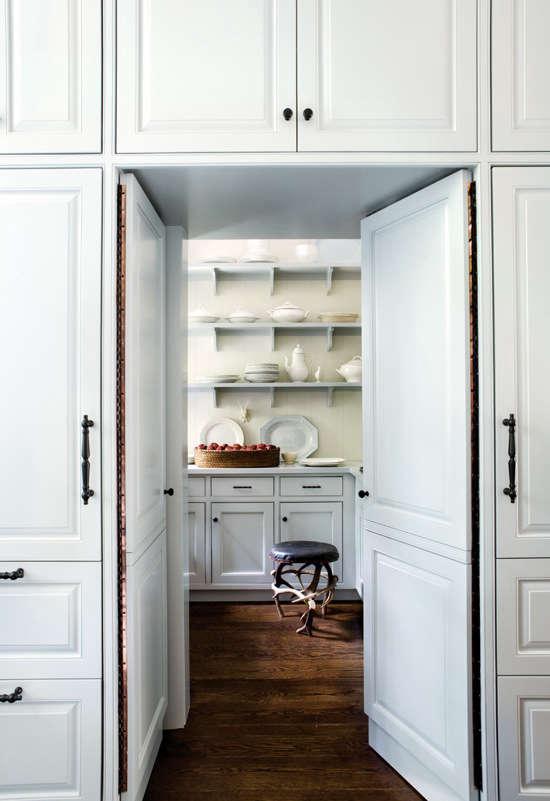 piano hinge pantry doors