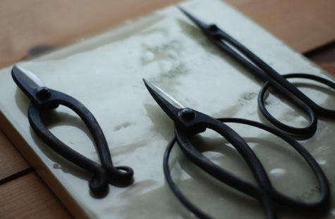 Japanese gardening scissors 1