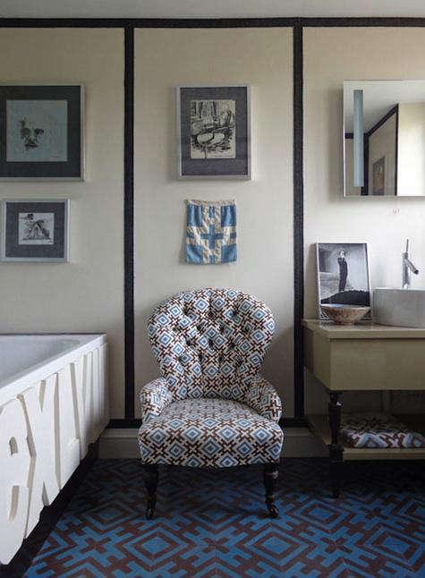 Tile  Countertop David Hicks for Popham Tile portrait 3