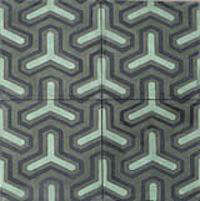 Tile  Countertop David Hicks for Popham Tile portrait 8
