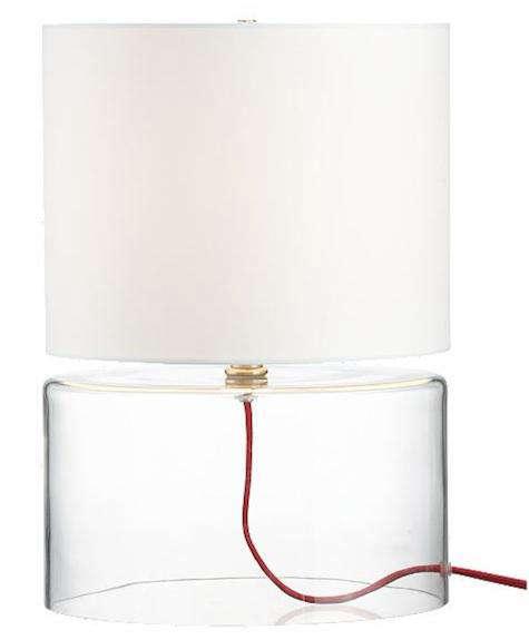 cb2 rose line lamp