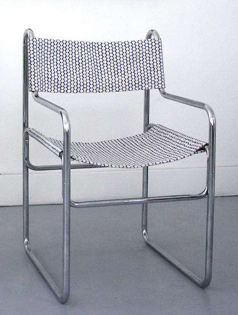 Furniture Midcentury Slipcovered Chairs portrait 3