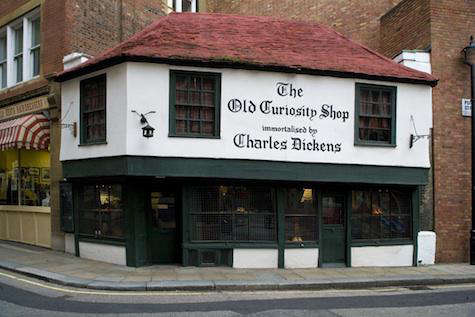 Shoppers Diary The Old Curiosity Shop in London portrait 3