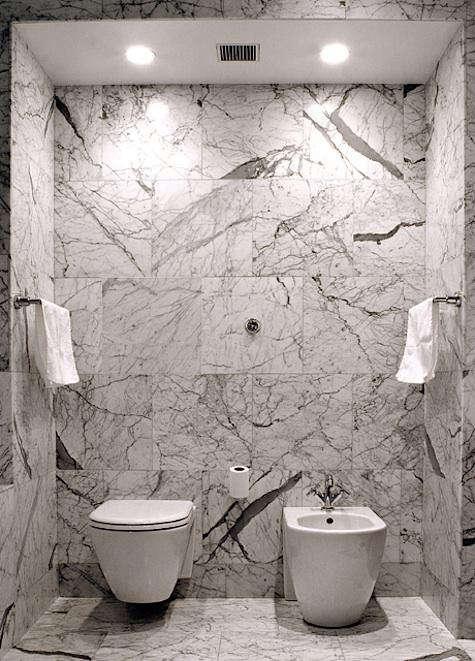 front studio marble bath