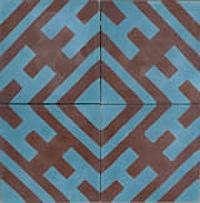 Tile  Countertop David Hicks for Popham Tile portrait 4