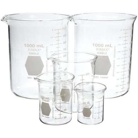 laboratory beaker set kimball