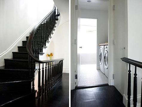 roberts laundry room stair