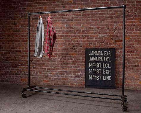 strawser smith clothing rack