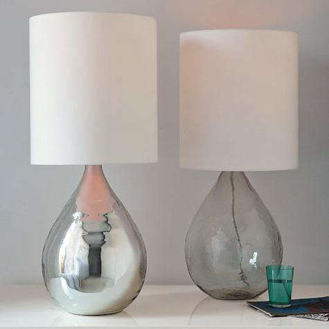 west elm glass jug lamp