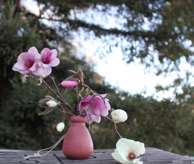 640 lousa mini floral displat