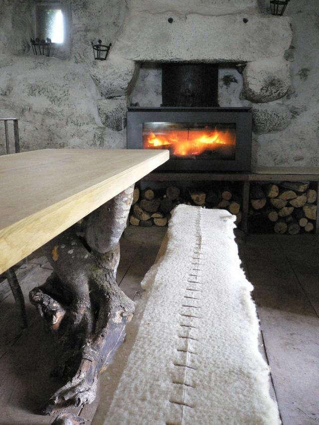 640 wood burning stove