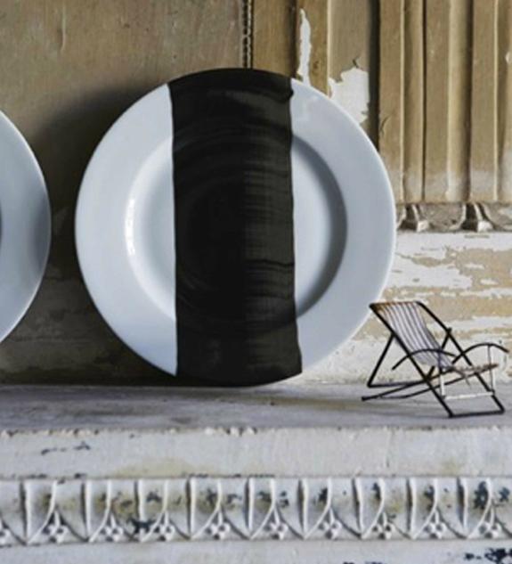 Painterly Porcelain Plates from Cot Pierre portrait 5