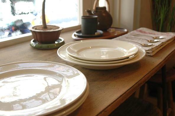 Painterly Porcelain Plates from Cot Pierre portrait 3