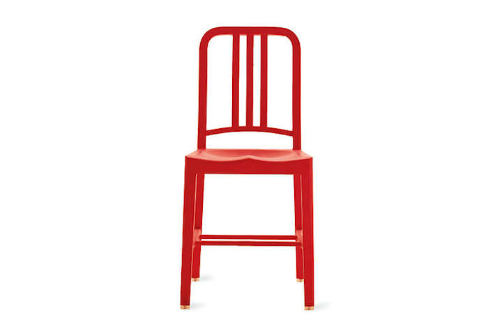 700 111 navy chair in red