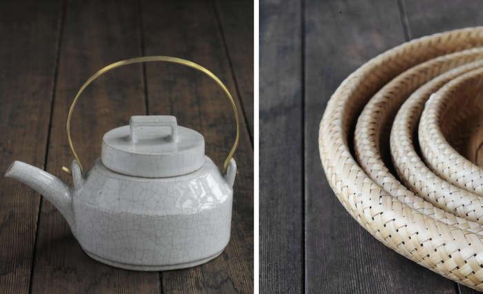 700 analogue life teapot and basket