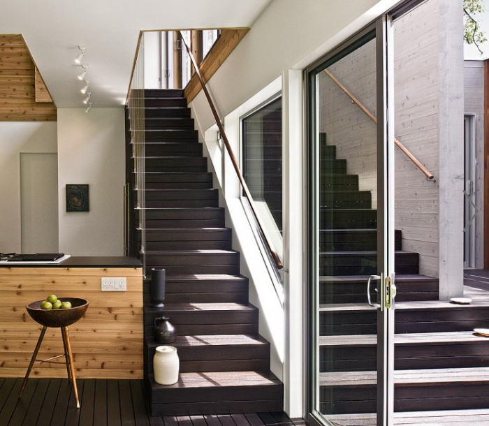 700 bates masi dark wood modern staircase