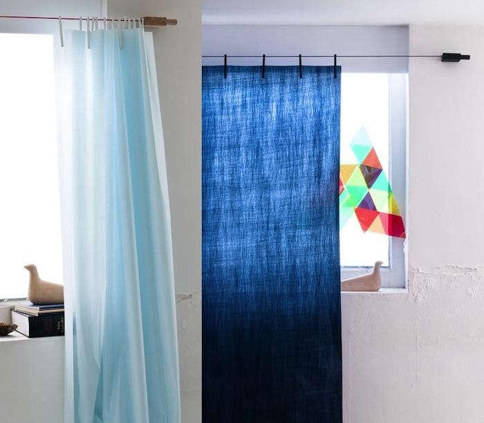 700 blue bouroullec blue pale curtains