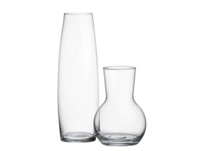 700 bud vases glass crate and barrel