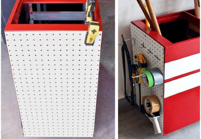 700 diy file cabinet tool stoage