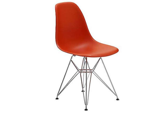 700 eames molded plastic eiffel side chair