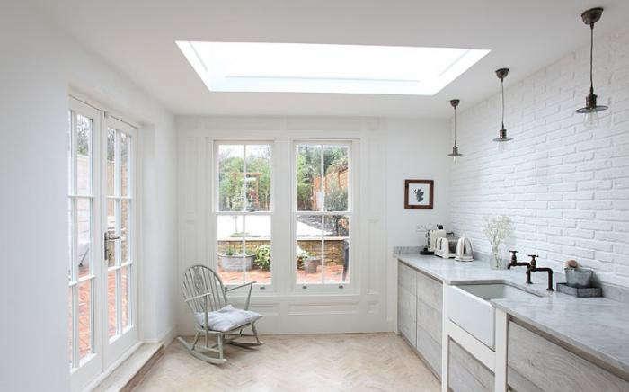 700 english cottage white brick backsplash