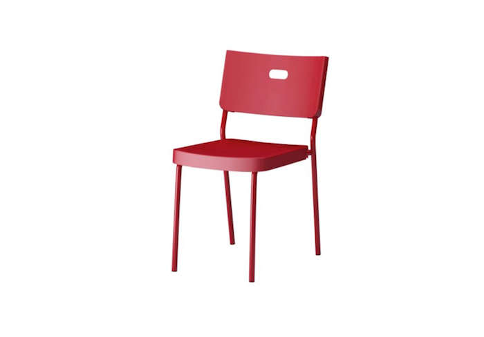 700 herman chair red