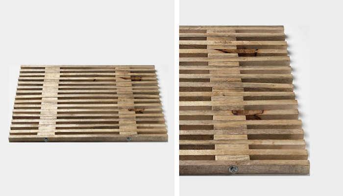 700 mango wood bath mat