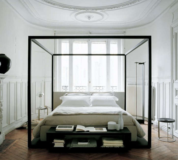 700 masculine canopy bed frames
