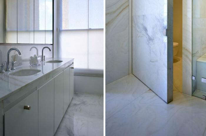 700 open studio architects marble bath and shower