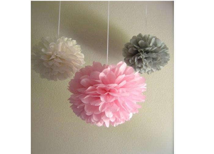 700 pink white gray pompom 10