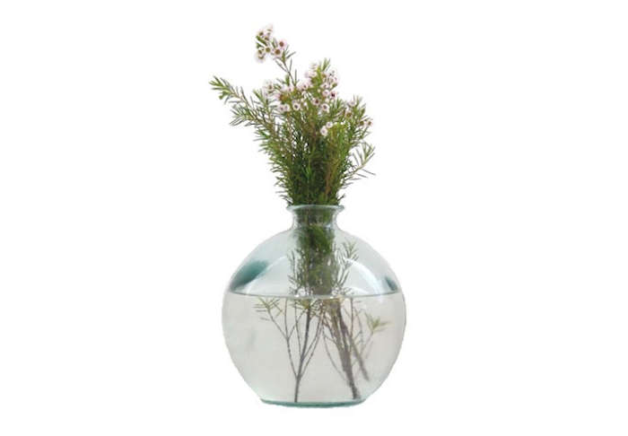 700 recycled ball vase